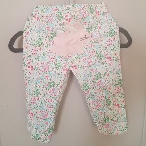 Carters spring bunny pants